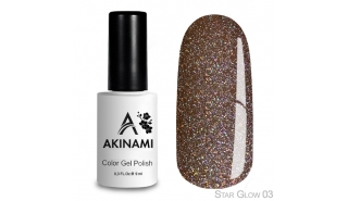 Akinami Color Gel Polish Star Glow - 03